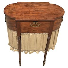 Early 19th C. American Worktable
