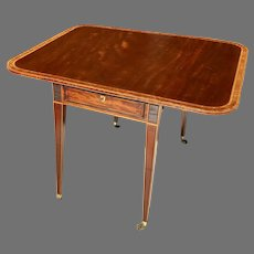 18th C. George III Pembroke Table