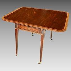18th C. George III Pembroke Table