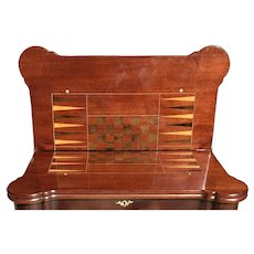 18th C. George II Game Table
