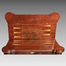 18th C. George II Game Table