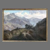C. 1911 John Califano oil painting