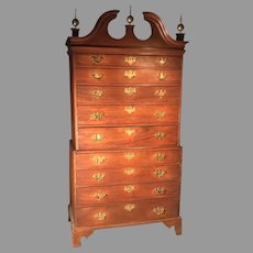 18th C. American Chest On Chest