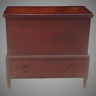 Early 19th C. American Sugar Chest