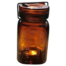 Early 20th C. Product Jar