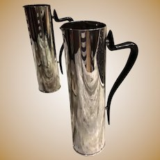 Mid Century Silverplate Martini pitcher