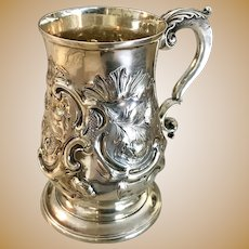 18th C. British Sterling Silver Mug