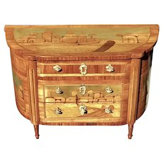 C. 1820 Miniature French Commode