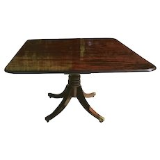 Early 19th C. English Regency Period Dining Table