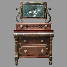 Early 19th C. American Classical Chest of Drawers