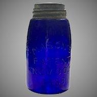Vintage Glass Fruit Jar
