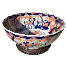 Late 19th C. Japanese Imari Bowl