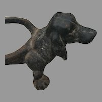 19th C. American Iron Dachshund Dog