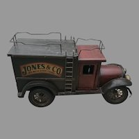 Mid C. American Painted Wooden Truck