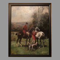 19th C. Scott Leighton Oil Painting
