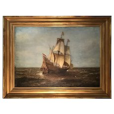 Late 19th C. American Seascape Paintings  by Wesley Webber