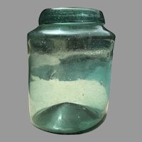 Mid 19th C. American Fruit Jar