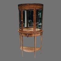 19th C. Biedermeier Display Cabinet