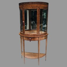 19th C. Biedermeier Display Cabinet