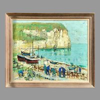 Mid 20th C. French Impressionist Painting by Jean Monneret
