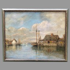 William Paskell(Boston 1866-1951) Oil Painting