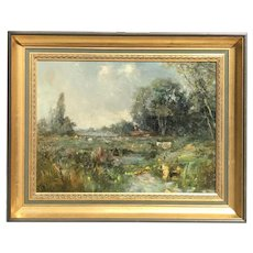 George Boyle(British 1826-1899) Oil Painting