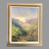 Early 20th C. Herman Herzog Oil Painting