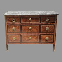 18th C. Louis XVI Period French Commode