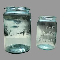 C. 1900 Pair of American Fruit Jars