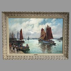 20th C. French Oil Painting