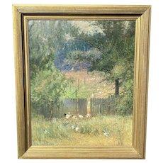 C.1910 American Oil Painting