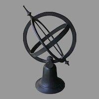 19th C. Bronze Armillary Sphere