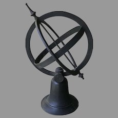 19th C. Bronze Armillary Sphere
