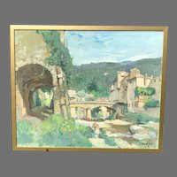 Constantine Kluge 20th C. Oil Painting