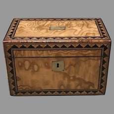 British 19th Tea Caddy