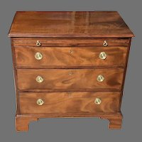 18th C. George III Chippendale Chest of Drawers