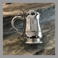 Early 18th C. English Sterling Silver Tankard