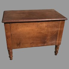 Early 19th C. Miniature American Blanket Chest