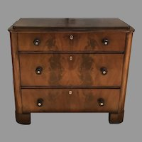 19th C. Bedermeirer Chest of Drawers