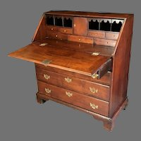 18th C. American Chippendale Southern Desk