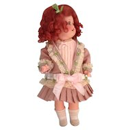 Petite Vintage French Style 2 Piece Doll Outfit