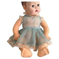 Organdy and Lace Baby Doll Party Dress