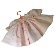 Mdme Alex Pink Taffeta Coat for a Baby Doll