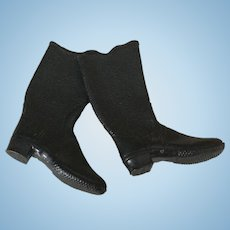 Early 20c. Doll/Sample Rubber Boots