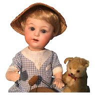 """10"""" Rare Heubach Pouty Character Baby"""