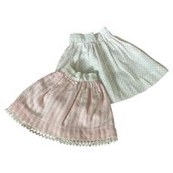 C.1900 Doll Skirts