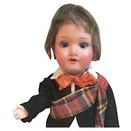 """9"""" Scottish Lad Made in Germany Doll"""