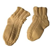 Lovely Wool Knitted Socks/Booties