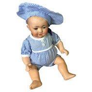 """Dear 9"""" Armand Marseille 326 Character Baby Doll"""