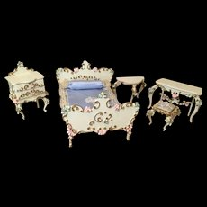 5 Pieces German Spielwaren Bedroom Set